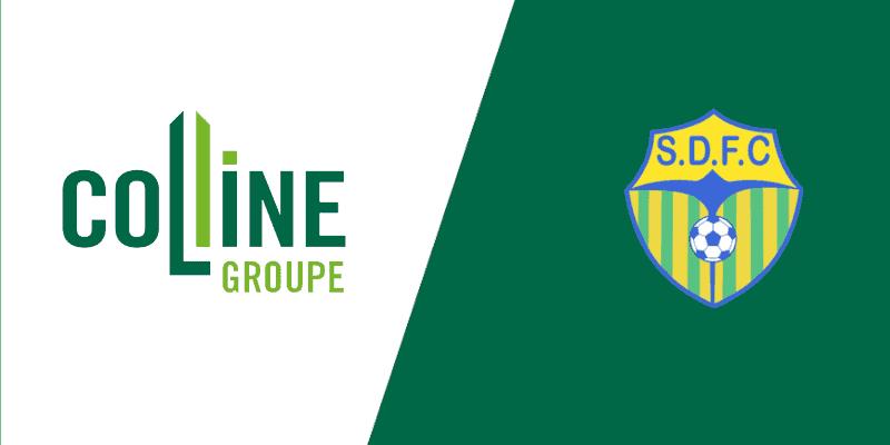 Colline Groupe partenaire du Saint Denis Football Club