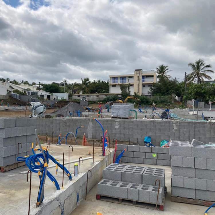 Progress of the construction land view